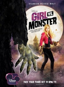 Девочка против монстра
