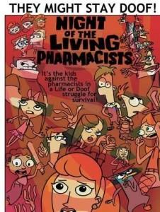 Финес и Ферб: Ночь живых аптекарей